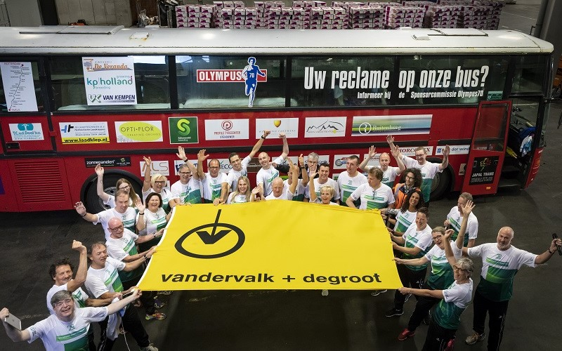 Sponsorshirts of vlag - € 500,00